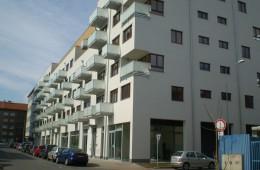 Administrativní objekt a bytové domy Pankrác