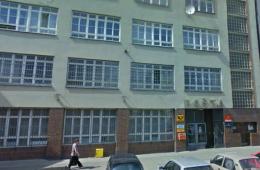 Rekonstrukce hlavní pošty Praha 8